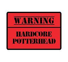Hardcore Potterhead Photographic Print