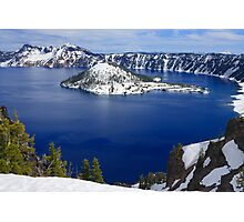 Crater Lake National Park Photographic Print