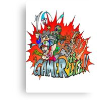 Gamer for Life Canvas Print