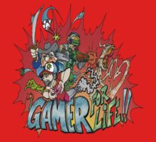Gamer for Life Baby Tee