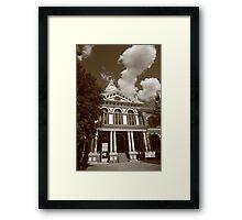 Pontiac, Illinois - Courthouse Framed Print
