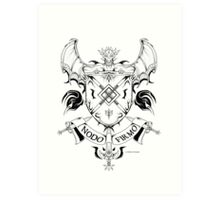 Coat of arms 1 Art Print