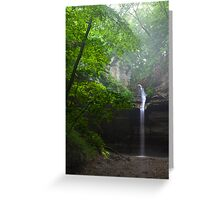 The Falls and the Mist Greeting Card