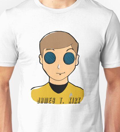The Enterprise Crew - Kirk Unisex T-Shirt
