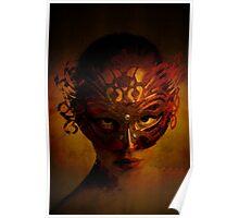 Bal Masque - Masked Portrait Art Poster