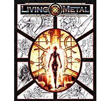 Metal Sketchings Photographic Print