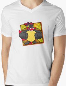 Hong Kong Custom Mens V-Neck T-Shirt