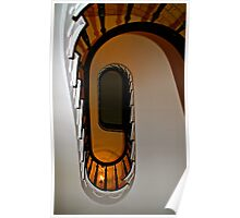 Looking up the staircase….. Poster