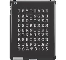 Lifehack iPad Case/Skin
