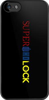 SuperWhoLock iPhone Case 2 by rycbar321