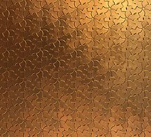 Stamped Metal 1 by mecx