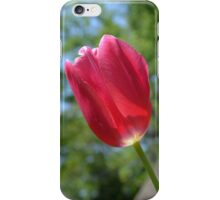 Red Tulip - phone skin iPhone Case/Skin