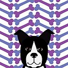 Boston Terrier  by Gabby  Ortman