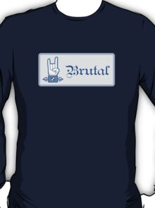 Brutal Button T-Shirt