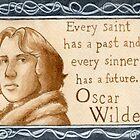 Oscar Wilde quote by Jujudraws