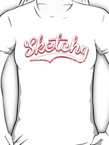 Sketchy red T-Shirt