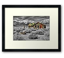 Strength Amidst The Test Of Time Framed Print