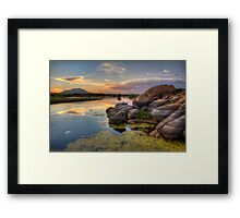 Color Corner Framed Print