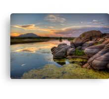 Color Corner Canvas Print