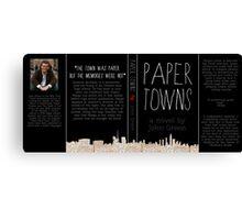 Paper Towns Canvas Print