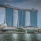 Marina Bay Sands Hotel, Singapore by pommieken