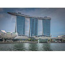 Marina Bay Sands Hotel, Singapore Photographic Print