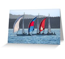 We Three Ships Greeting Card