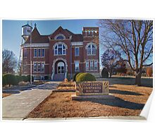 Rush County, Kansas, Courthouse Poster