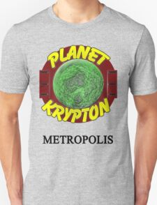 Planet Krypton - Metropolis T-Shirt