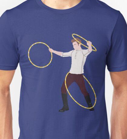 Mamma Mia, Triple Hoop Action Unisex T-Shirt
