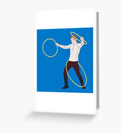 Mamma Mia, Triple Hoop Action Greeting Card
