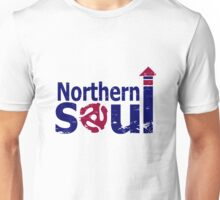 Weathered  Retro look northern Soul Unisex T-Shirt