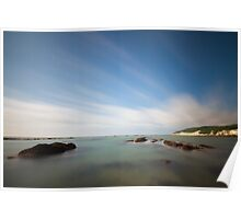160 second exposure on Eastbourne seafront  Poster