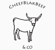 CheefBlakBeef Official White by casamezcua