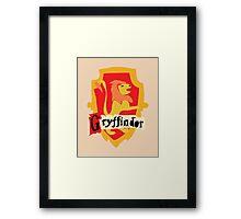 Gryffindor Crest Framed Print
