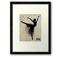 arabesque Framed Print
