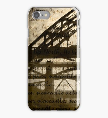 Newcastle Keywords iPhone Case/Skin