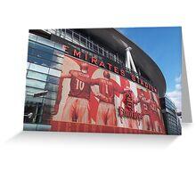 Arsenal FC, Emirates Stadium, London Greeting Card