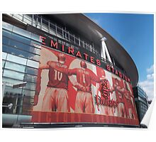 Arsenal FC, Emirates Stadium, London Poster
