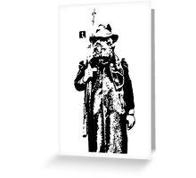Boar Hunter VRS2 Greeting Card