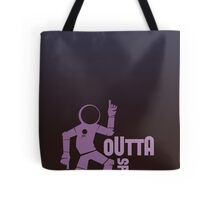 Funky Dancing Outta Spaceman Graphic Tote Bag