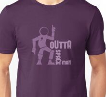 Funky Dancing Outta Spaceman Graphic Unisex T-Shirt
