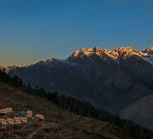 sunset by pushkar17