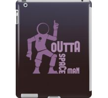 Funky Dancing Outta Spaceman Graphic iPad Case/Skin