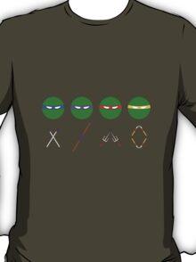 Minimal Armed Turtles T-Shirt