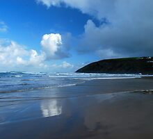 Morning in Mawgan Porth by DMHotchin