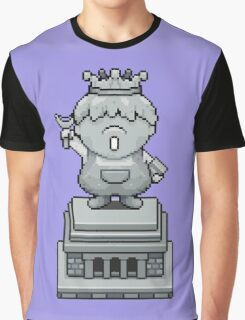 King Pokey Statue - Mother 3 Graphic T-Shirt