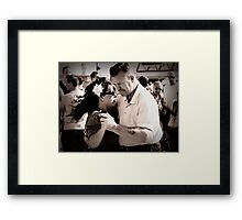 In the old-fashioned way Framed Print