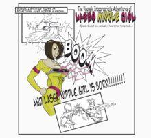 Laser Nipple Girl (storyboard) by GreenTeacup