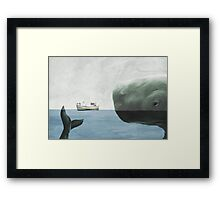 Just you try it! Framed Print